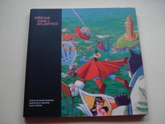 Viñetas desde o Atlántico. Festival da banda deseñada. A Coruña, 2013. Catálogo - Ver os detalles do produto