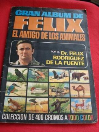 GRAN ÁLBUM DE FÉLIX EL AMIGO DE LOS ANIMALES  por el Dr. Félix Rodríguez de la Fuente - Ver os detalles do produto