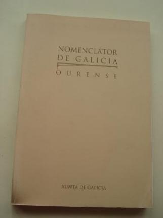 Nomenclátor de Galicia: Ourense (Con mapa das Parroquias da provincia de Ourense) - Ver os detalles do produto