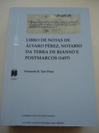 Libro de notas de Álvaro Pérez, notario da terra de Rianxo e Postmarcos (1457) - Ver os detalles do produto
