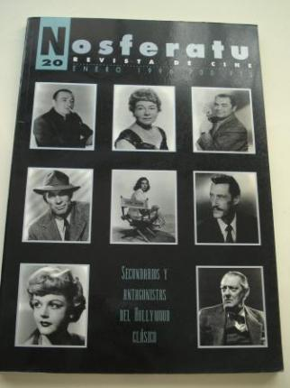 NOSFERATU. Revista de cine. Nº 20, enero 1996. Secundarios y antagonistas del Hollywood clásico - Ver os detalles do produto