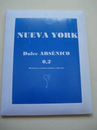 NUEVA YORK. Dulce ARSÉNICO O,2. Revista de creación artística y literaria. Cuadernillo, Marcapáginas, Tarjetas y CD - Ver os detalles do produto