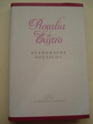 Autógrafos poéticos (Edición de Henrique Monteagudo) - Ver os detalles do produto