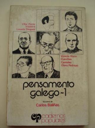Pensamento galego-1 (Escolma de Carlos Baliñas) - Ver os detalles do produto