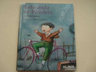 Lolo anda en bicicleta (Texto en galego) - Ver os detalles do produto