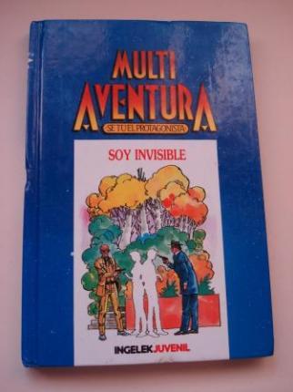 Soy invisible. Multi Aventura. Sé tú el protagonista, nº 10 - Ver os detalles do produto