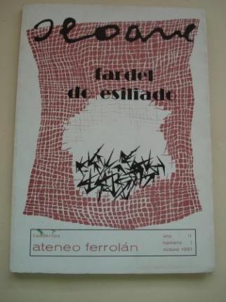 Fardel de eisilado. Cuaderno Ateneo Ferrolán. Ano II. Núm. I. Outono 1981 - Ver os detalles do produto