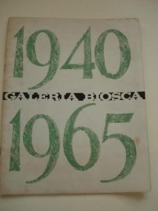 COLMEIRO. Catálogo Exposición Galería Biosca - Madrid, 1965 - Ver os detalles do produto