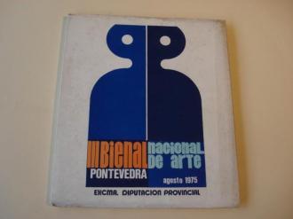 III Bienal Nacional de Arte. Pontevedra, agosto 1975 - Ver os detalles do produto