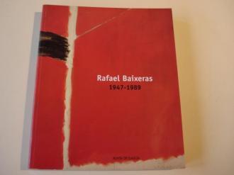 RAFAEL BAIXERAS 1947-1989. Catálogo Exposición Centro Galego de Arte Contemporánea, Santaigo de Compostela, 1999 - Ver os detalles do produto