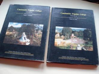 Cancioneiro Popular Galego. Volume II. Festas anuais. Tomo I: Melodías / Tomo II: Letra (Con partituras, fotos e mapas) - Ver os detalles do produto