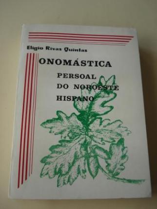 Onomástica persoal do noroeste hispano - Ver os detalles do produto