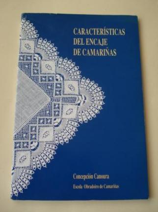 Características del encaje de Camariñas (Con esquemas y fotografías) - Ver os detalles do produto