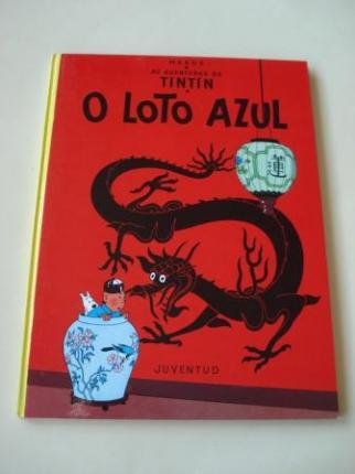 O Loto azul. As aventuras de Tintín (En galego). Tradución de Valentín Arias López - Ver os detalles do produto