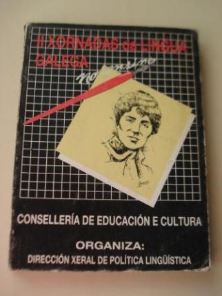 II Xornadas da Lingua Galega no ensino. Santiago de Compostela, 1985 - Ver os detalles do produto