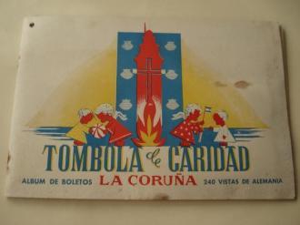 Tómbola de caridad (La Coruña). Álbum de boletos con 240 vistas de Alemania (Completo) - Ver os detalles do produto