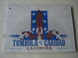 Tómbola de caridad (La Coruña). Álbum de boletos con 240 vistas de Austria (Completo) - Ver os detalles do produto