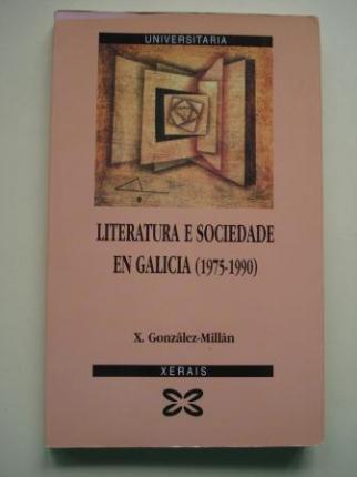 Literatura e sociedade en Galicia (1975-1990) - Ver os detalles do produto