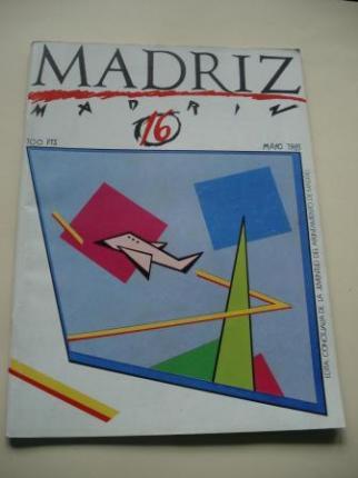 MADRIZ. Nº 16. Mayo, 1985 - Ver os detalles do produto