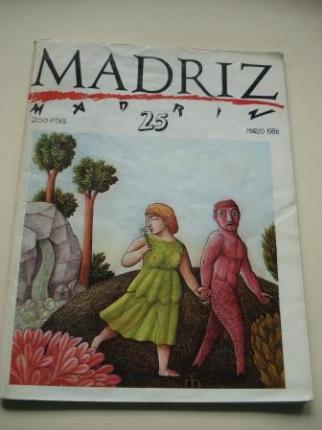MADRIZ. Nº 25. Marzo, 1986 - Ver os detalles do produto