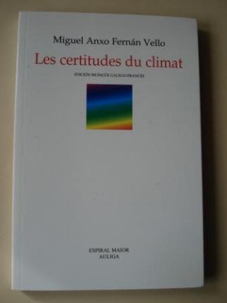 Les certitudes du climat (Edición bilingüe galego-francés) - Ver os detalles do produto
