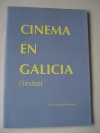 Cinema en Galicia (Textos) (Texto en español) - Ver os detalles do produto