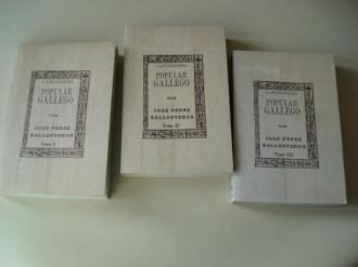 Cancionero popular gallego. 3 tomos (En galego) - Ver os detalles do produto