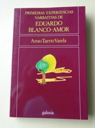 Primeiras experiencias narrativas de Eduardo Blanco-Amor - Ver os detalles do produto