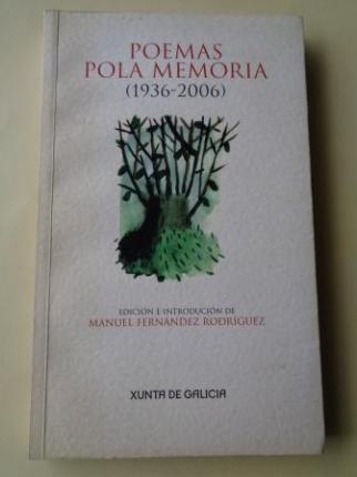 Poemas pola memoria (1936-2006) - Ver os detalles do produto