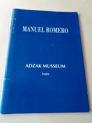 MANUEL ROMERO. Catálogo ADZAK MUSSEUM, París - Ver os detalles do produto