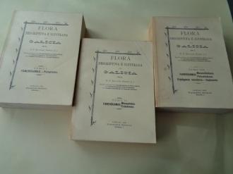 Flora descriptiva e ilustrada de Galicia. 3 tomos - Ver os detalles do produto