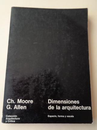 Dimensiones de la arquitectura. Espacio forma y escala - Ver os detalles do produto