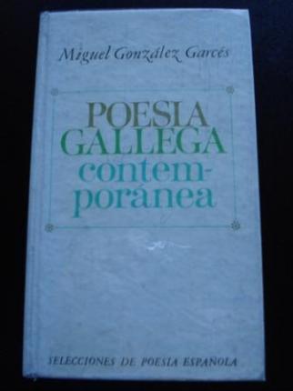 Poesía gallega contemporánea. Antología. Texto bilingüe - Ver os detalles do produto