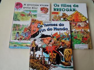 Colección completa AS AVENTURAS DUN NENO GALEGO: Os homes do fin do mundo - Os fillos de Breogán - A grande viaxe polo río (Ilustrados por Bofill) - Ver os detalles do produto