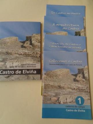 Castro de Elviña (A Coruña). Visitas escolares.Guía de recursos didácticos + 4 cadernos de campo + CD - Ver os detalles do produto