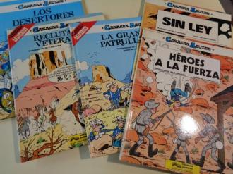 Colección Casacas Azules Números 1 a 5: Héroes a la fuerza - Sin ley - La gran patrulla - Reclutas y veteranos - Los desertores - Ver os detalles do produto