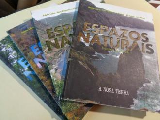 Espazo naturais. 4 tomos. A Coruña - Lugo - Ourense- Pontevedra - Ver os detalles do produto