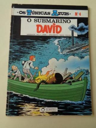 O submarino David. Os Túnicas Azuis, nº 4 (En portugués) - Ver os detalles do produto