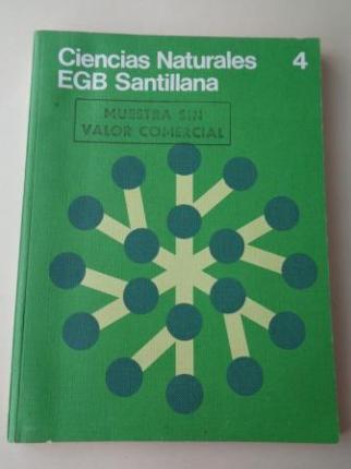Ciencias Naturales 4. EGB (Santillana, 1978) - Ver os detalles do produto