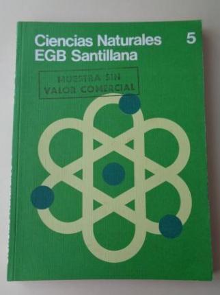 Ciencias Naturales 5. EGB (Santillana, 1976) - Ver os detalles do produto