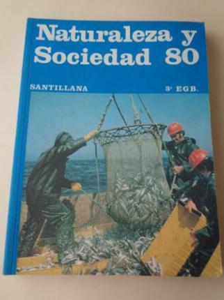 Naturaleza y Sociedad 80. 3º EGB (Santillana, 1979) - Ver os detalles do produto