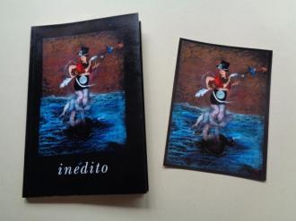 Inédito (Cuaderno en blanco + postal en color) - Ver os detalles do produto