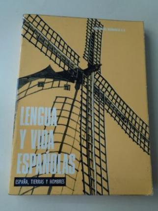 Lengua y vida españolas. España, tierras y hombres - Ver os detalles do produto