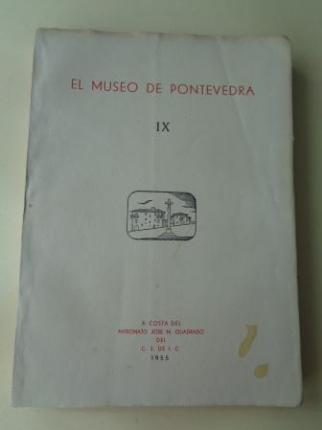 EL MUSEO DE PONTEVEDRA, IX (1955) - Ver os detalles do produto