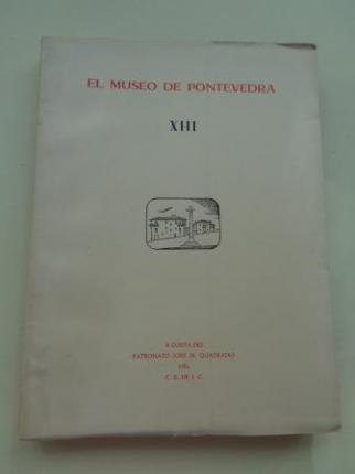 EL MUSEO DE PONTEVEDRA, XIII (1959) - Ver os detalles do produto