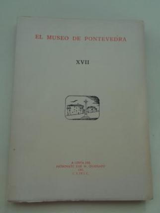 EL MUSEO DE PONTEVEDRA, XVII (1963) - Ver os detalles do produto