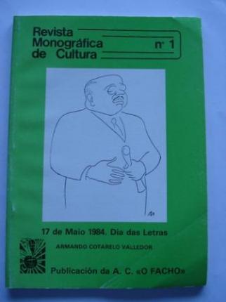 Revista Monográfica de Cultura, nº 1 - Ver os detalles do produto
