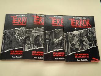 BIBLIOTECA DEL TERROR. Números 91-92-93-94 - Ver os detalles do produto