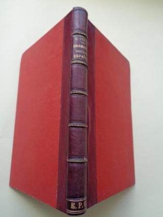 Manual Elemental de Gramática Histórica Española  - Ver os detalles do produto