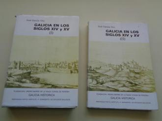 Galicia en los siglos XIV y XV. 2 tomos - Ver os detalles do produto